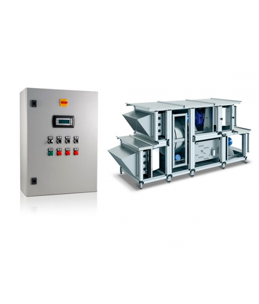 Блок управления и контроля CMU для вентиляционных систем