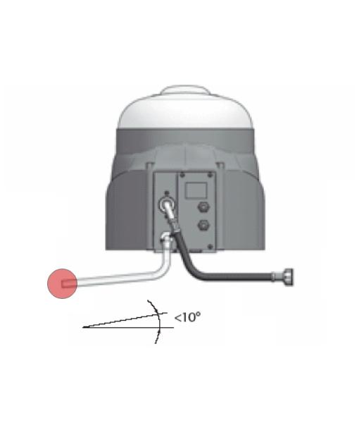 Трубка для слива воды UCKTS00000